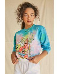 Forever 21 Spongebob Graphic Sweatshirt - Blue