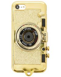 Forever 21 - Glittered Camera Case For Iphone 7/8 - Lyst