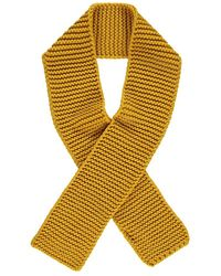 Forever 21 - Rectangular Knit Scarf , Mustard - Lyst
