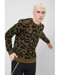 Forever 21 - Animal Print Knit Jumper - Lyst