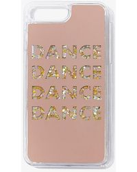 Forever 21 Dance Graphic Case For Iphone 6/7/8 Plus In Yellow - Multicolor