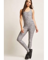 Forever 21 - Active Caged-back Jumpsuit - Lyst