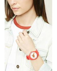 Forever 21 - Pizza Graphic Analog Watch - Lyst