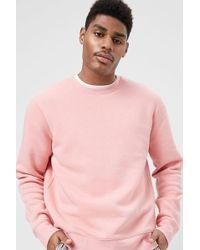 3979fee9 's Boxy Fleece Sweatshirt - Pink