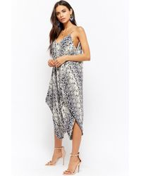 Forever 21 - Women's Abstract Relaxed Jumpsuit - Lyst