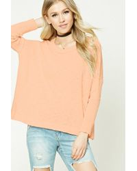 Forever 21 - Purl Knit Boxy Top - Lyst