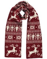 Forever 21 - Christmas Print Oblong Scarf - Lyst