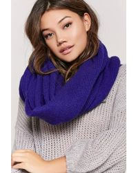 Forever 21 | Oversized Knit Scarf | Lyst