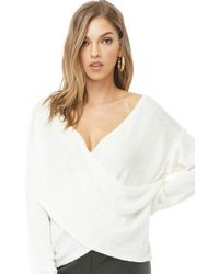 Forever 21 - Plunging Surplice Top - Lyst