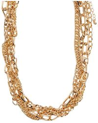 Forever 21 - Chunky Chain-link Necklace - Lyst