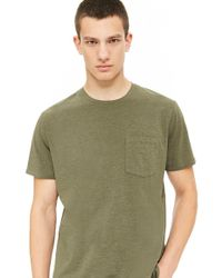 Forever 21 - Crew Neck Pocket Tee - Lyst