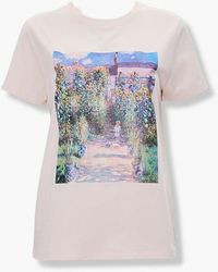 Forever 21 Painting Graphic Tee - Multicolor