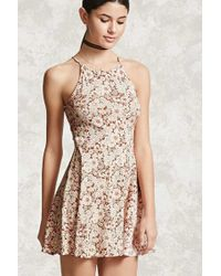 Forever 21 scalloped lace dress
