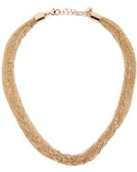 Forever 21 Rolo Chain Necklace , Gold - Metallic
