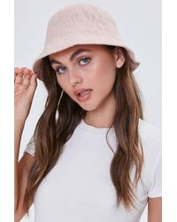 Forever 21 Textured Cloche H - Brown