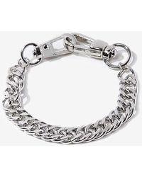 Forever 21 Chunky Chain Bracelet - Metallic