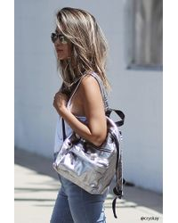 Forever 21 - Metallic Textured Backpack - Lyst