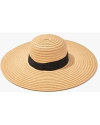Forever 21 Floppy Straw Hat - Natural