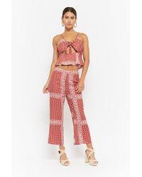 a0941498698 Forever 21 - Ornate Bandana Print Ankle Pants - Lyst