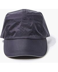 Forever 21 Textured Coated Dad Cap - Black