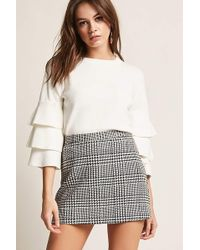 Forever 21 | Tiered Bell Sleeve Top | Lyst