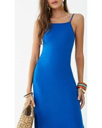 8735a6286ce8 Forever 21 - Women's Square Neck Maxi Dress - Lyst