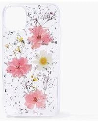 Forever 21 Floral Print Case For Iphone 11 In Pink