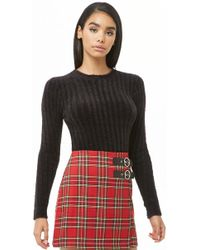 Forever 21 - Fuzzy Ribbed Sweater - Lyst