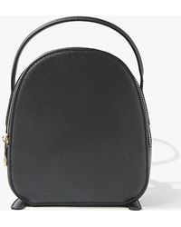 Forever 21 Small Structured Backpack - Black