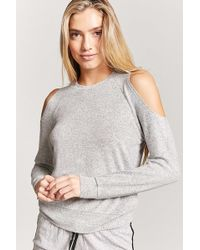 Forever 21 - Open-shoulder Pyjama Top - Lyst