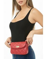 Forever 21 - Quilted Belt Bag - Lyst