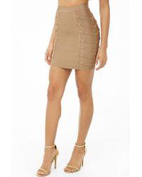 Forever 21 - Women's Strappy Mini Skirt - Lyst