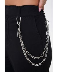 Forever 21 Layered Wallet Chain - Metallic