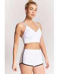 Forever 21 - Active Stripe Contrast Shorts - Lyst