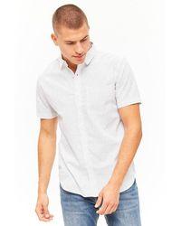 Forever 21 Hemd mit Polka Dots - Weiß
