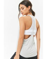 Forever 21 - Active Braided T-back Tank Top - Lyst