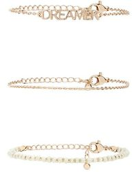 Forever 21 - Assorted Bracelet Set - Lyst