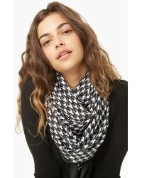 Forever 21 - Houndstooth Oblong Scarf - Lyst