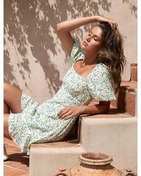 Forever New - Veronica Puff-sleeve Sun Dress - Lyst