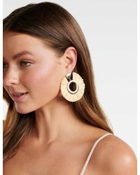 Forever New - Sara Raffia Drop Earrings - Lyst