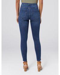 Forever New Heidi High-rise Ankle Grazer Jeans - Blue