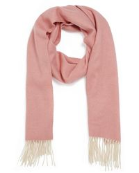 Forever New Katherine Wool Scarf - Pink