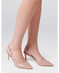 Forever New Charlotte Slingback Court Heels - Pink