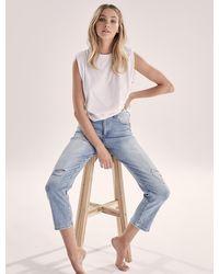 Forever New Bambi Mid-rise Slim Jeans - Blue
