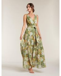 Forever New Winslet Gathered Maxi Dress - Green