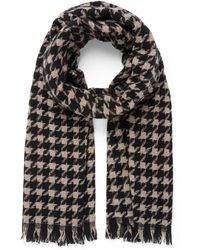 Forever New Coco Check Scarf - Black