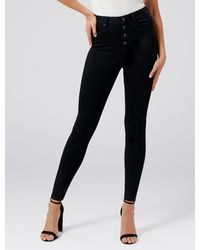 Forever New Heidi High-rise Ankle Grazer Jeans - Black