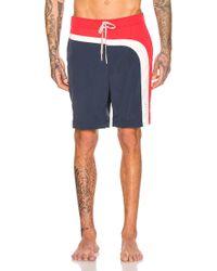 Thom Browne Board Shorts - Blue