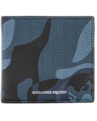 Alexander McQueen - Leather Billfold - Lyst