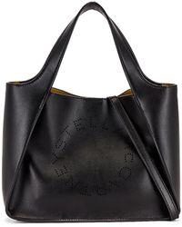 Stella McCartney Logo Crossbody Bag - Schwarz